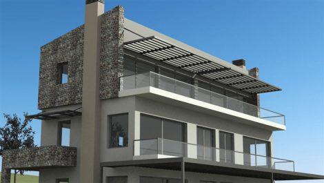 Ριζική ανακαίνιση μονοκατοικίας στην Χαλκιδική