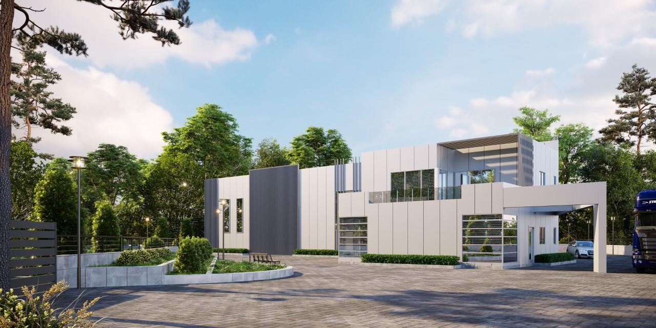 Syrmos Industrial building exterior View1_High Res