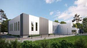 Syrmos Industrial building exterior